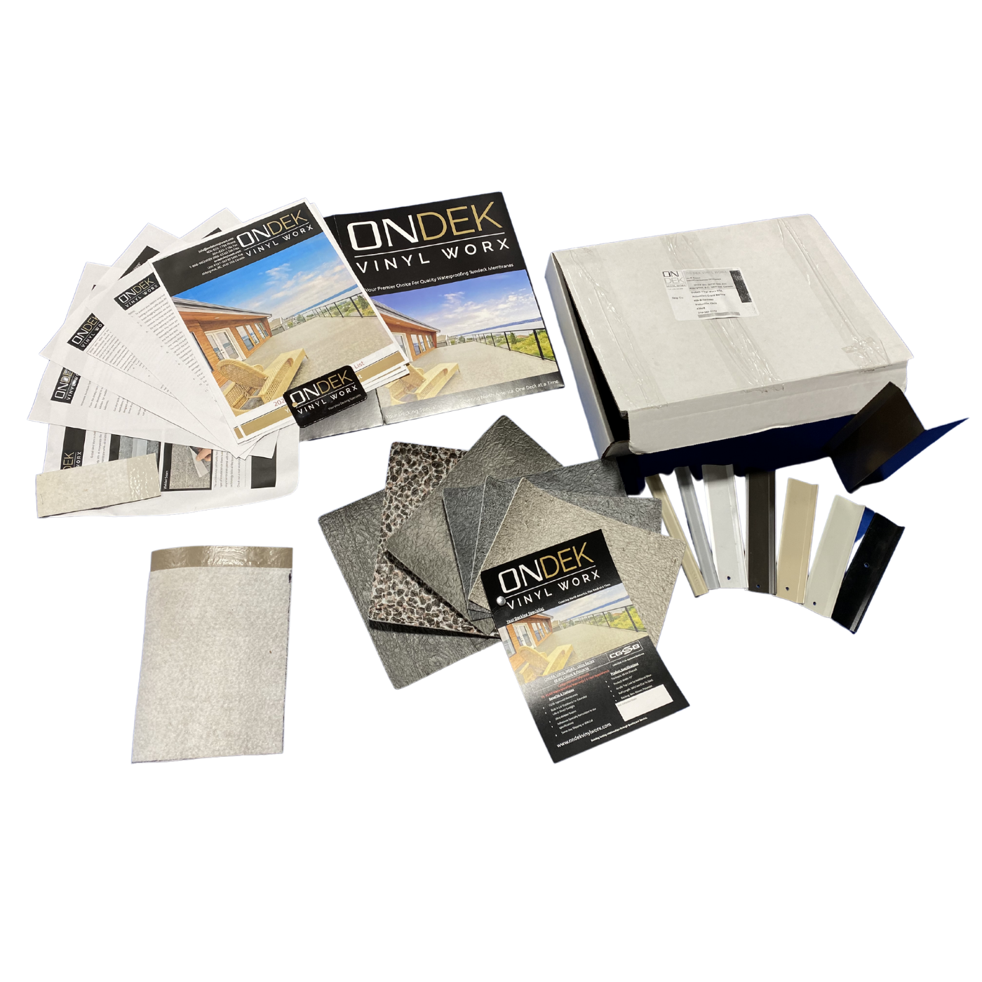 OnDek Vinyl Decking Design Kit