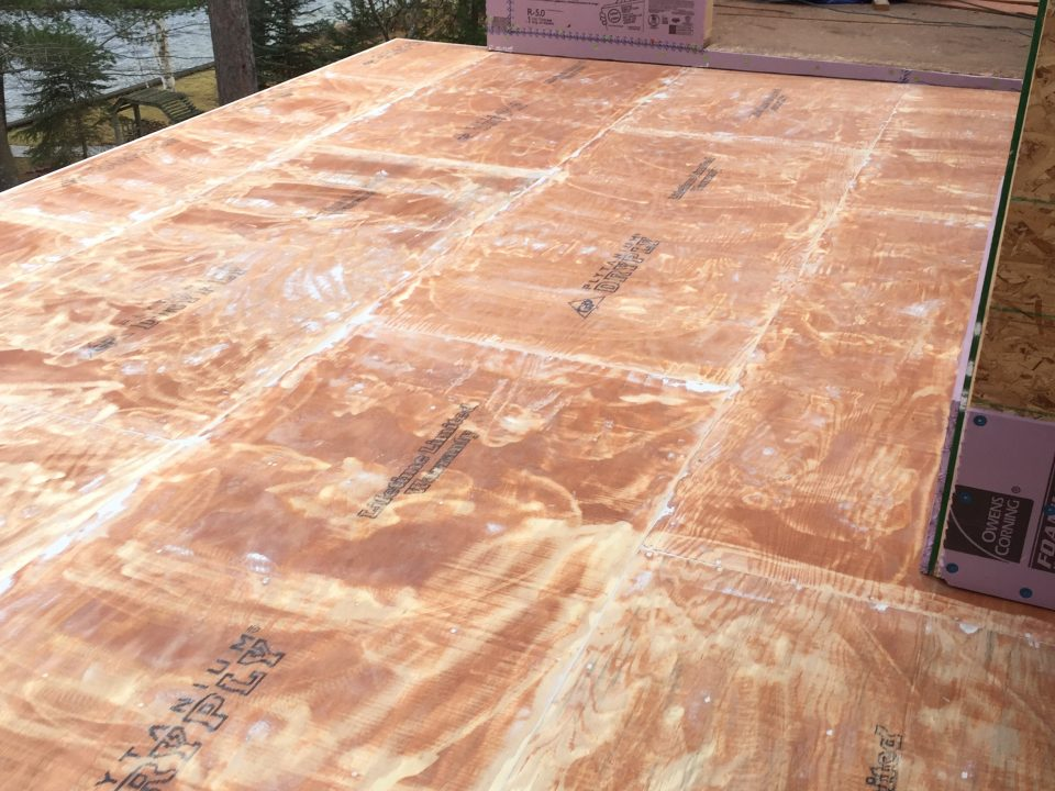 stop a leaky deck with vinyl decking