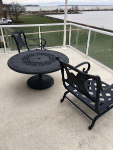 Will furniture cause damage to my vinyl decking?
